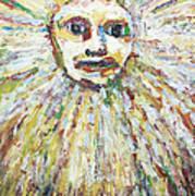 The Sun God Print by Kazuya Akimoto
