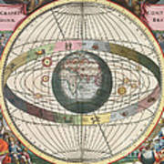 The Universe Of Brahe Harmonia Print by Science Source