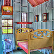 The Vincent Van Gogh Small House Print by Tamyra Ayles