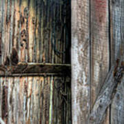 The Wood Shed Print by JC Findley