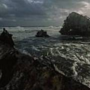 The Wreck Of The Thomas T. Tucker Print by James L. Stanfield
