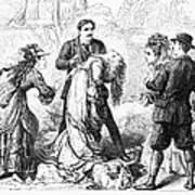 Theater: False Shame, 1872 Print by Granger
