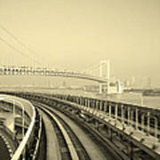 Tokyo Metro Ride Print by Naxart Studio