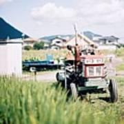 Tractor Print by Dapple Dapple