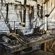 Trade Tools Print by Peter Chilelli