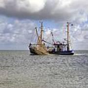 trawler - Sylt Print by Joana Kruse