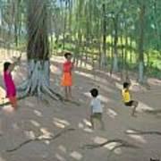 Tree Swing Print by Andrew Macara