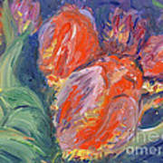 Tulips Print by Barbara Anna Knauf