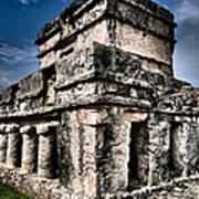 Tulum Ruinas 1 Print by Skip Hunt