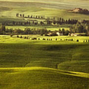 Tuscan Fields Print by Andrew Soundarajan