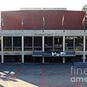 Uc Berkeley . Zellerbach Hall . 7d10012 Print by Wingsdomain Art and Photography