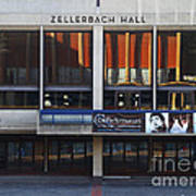 Uc Berkeley . Zellerbach Hall . 7d9989 Print by Wingsdomain Art and Photography