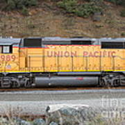 Union Pacific Locomotive . 7d10569 Print by Wingsdomain Art and Photography