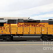 Union Pacific Locomotive Train - 5d18648 Print by Wingsdomain Art and Photography