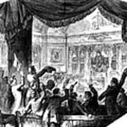 U.s. Congress: House, 1856 Print by Granger