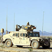 U.s. Marine Standing Ready Print by Stocktrek Images
