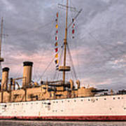 Uss Olympia Print by JC Findley