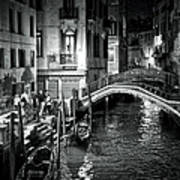 Venice Evening Print by Madeline Ellis