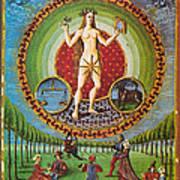 Venus Ruler Of Taurus And Libra Print by Photo Researchers