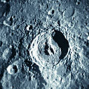 View Of Landscape Of The Moon Print by Stockbyte