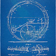 Vintage Monocycle Patent Artwork 1894 Print by Nikki Marie Smith