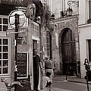 Vintage Paris1 Print by Andrew Fare