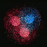 Visualisation Of Quark Structure Of Neutron Print by Arscimed