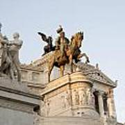 Vittoriano. Monument To Victor Emmanuel II. Rome Print by Bernard Jaubert