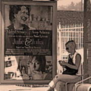 Waiting For Bus Print by Viktor Savchenko