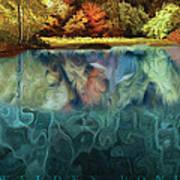 Walden Pond II Print by David Glotfelty