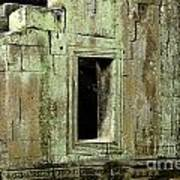 Wall Ta Prohm Print by Bob Christopher