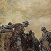 Wars Of America Print by Paul Ward