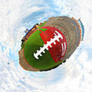 Wee Football Print by Nikki Marie Smith