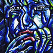 Weeping Child Print by Kamil Swiatek
