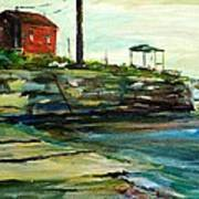 Wells Harbor Maine Print by Scott Nelson