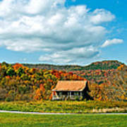 West Virginia Homestead Print by Steve Harrington