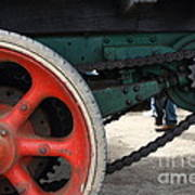 Wheels Of Steam Powered Truck 7d15103 Print by Wingsdomain Art and Photography