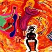 Wild Music Print by Eliezer Sobel