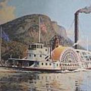 William G Muller Lithograph Towboat Syracuse  Print by Jake Hartz