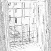 Window To History Print by Michael Belgeri