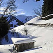 Winter Landscape Print by Matthias Hauser
