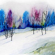 Winter Sorbet Print by Lynne Furrer