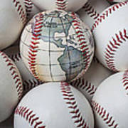 World Baseball Print by Garry Gay