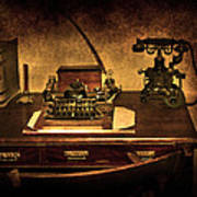 Writers Desk Print by Svetlana Sewell