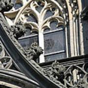 Xanten Cathedral Print by Arlene Carmel