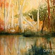 Yellow Medicine Creek 2 Print by Julie Lueders