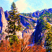 Yosemite In The Fall . 7d6287 Print by Wingsdomain Art and Photography