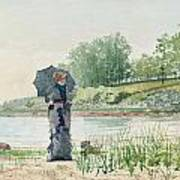 Young Woman Print by Winslow Homer