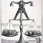 Zachary Taylor, Political Cartoon Print by Everett