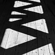 Zigzag  Print by Luke Moore